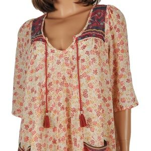 FREE PEOPLE Anthropologie S/P Multi Polyester